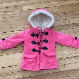 4/$20🥳Pink platinum girls pea coat size 2t